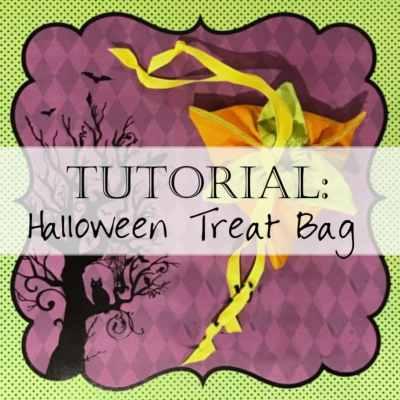 Tutorial: Halloween Treat Bags
