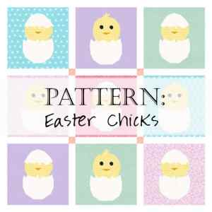 Try out this adorable Easter Chick Quilt Pattern! Created by Faith and Fabric.