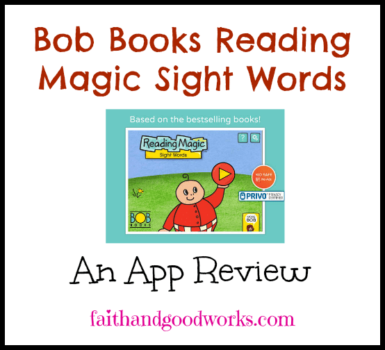 Bob Books Reading Magic Sight Words