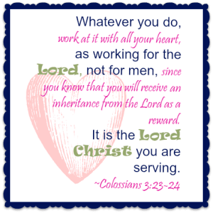 Homeschool Mama's Daybook - Scripture for 2016
