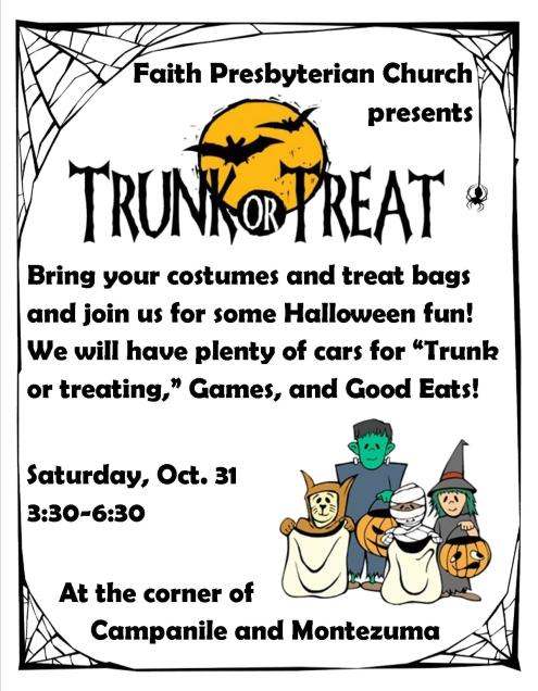 trunk or treat flyer large