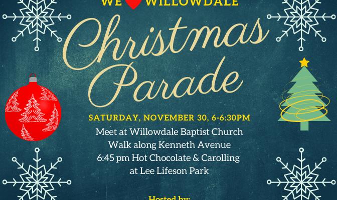 Christmas Parade, November 30, 2019
