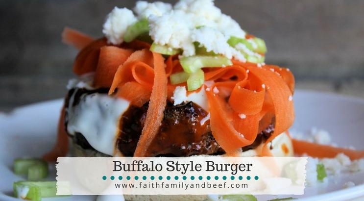 Buffalo Style Burgers