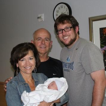 Grandma and Grandpa Leary