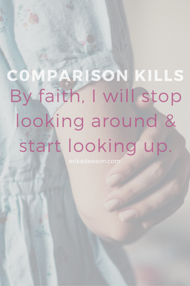 for the mom who has ever struggled with comparison