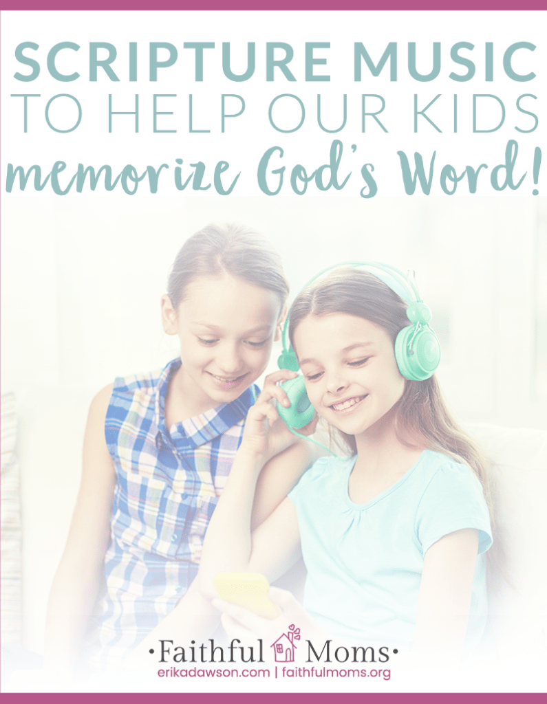 Great MUSIC to teach kids the Bible!!