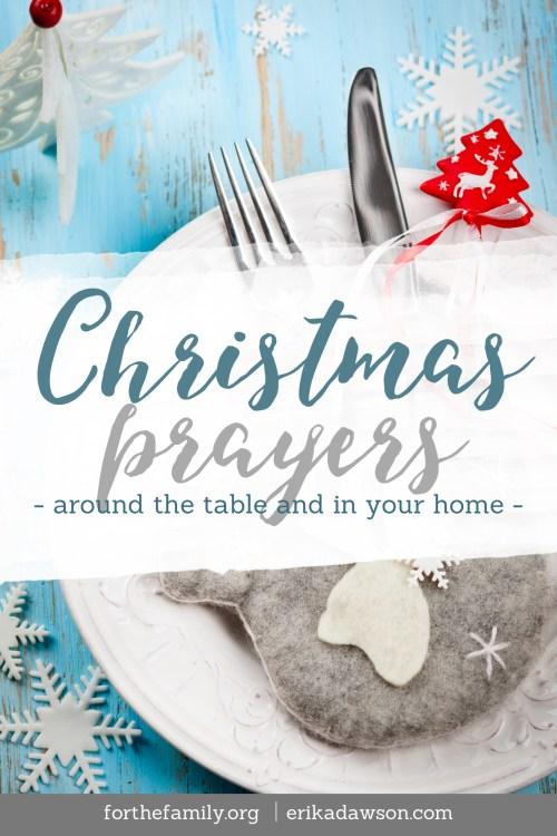 Christmas Prayers for your family