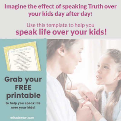 yes!!! LOVE this // such a helpful resource to speak LIFE over our kids