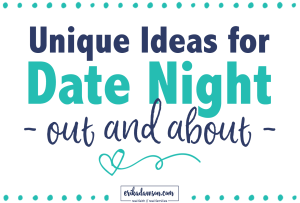 Date Ideas Go Out Slider size