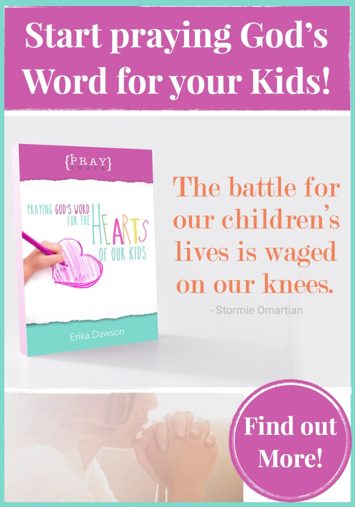 How to Start Praying for your Kids - Faithful Moms