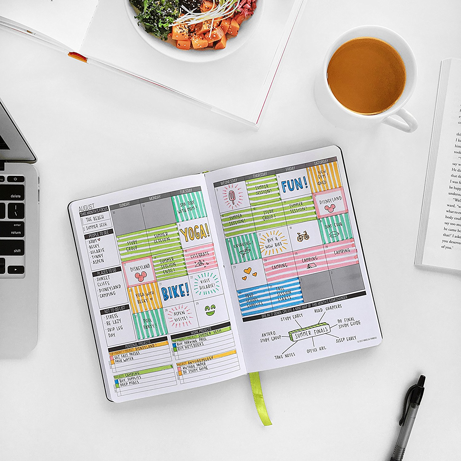 Organize your planner with my Chelsea Brown Designs Payday Stickers Perfect  for Passion Planner Compact and