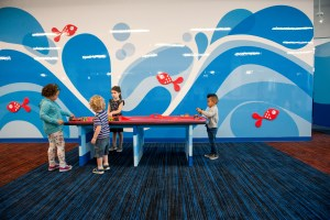awesome waiting area for families