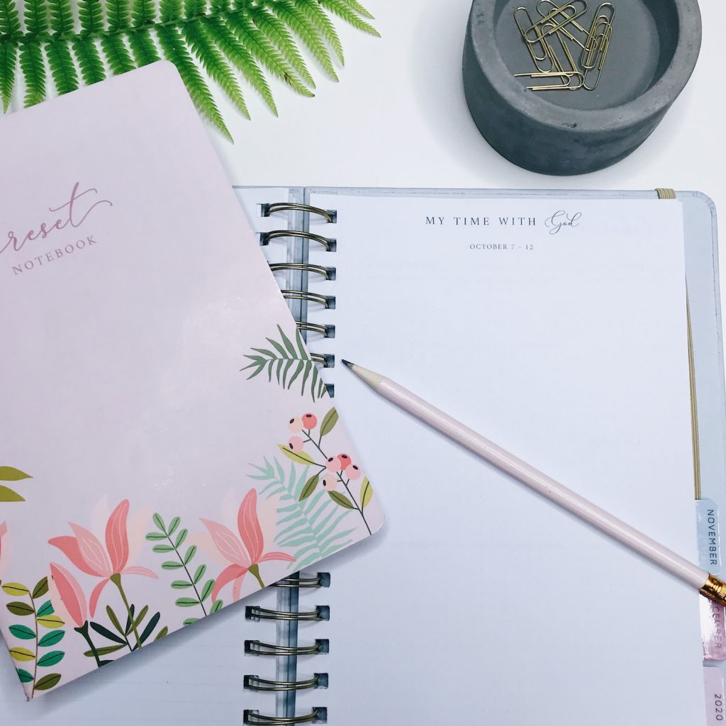 the Faithful Life Planner + Reset Notebook