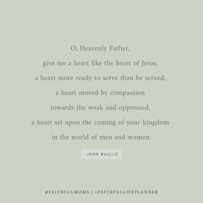 a prayer from John Baillie
