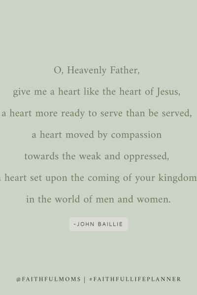 a prayer from John Baillie
