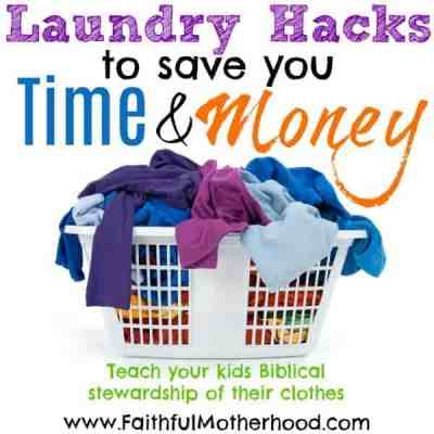 Laundry Hacks to Save you Time and Money
