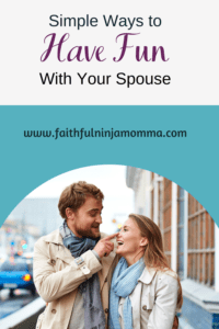 Have Fun With Your Spouse