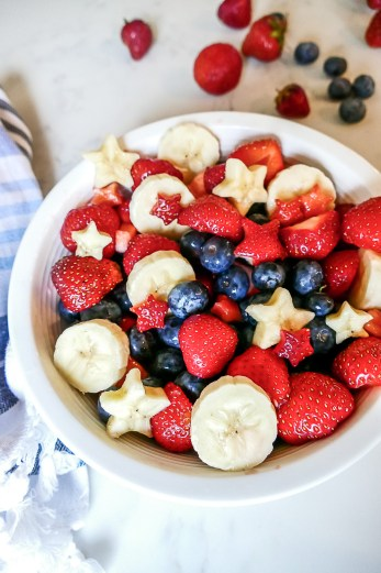 Red White and Blue Chia Pudding