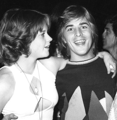 Mandatory Credit: Photo by Fotos International / Rex USA (105279l) DON JOHNSON AND MELANIE GRIFFITH WITH CHER - AT JOHNSON AND GRIFFITH'S WEDDING RECEPTION IN BEL-AIR, LOS ANGELES, AMERICA JAN 1976 VARIOUS - 1970S