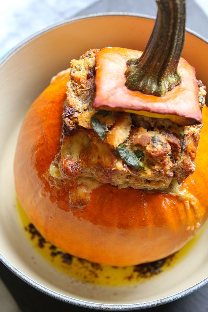 Stuffed Pumpkin | Faith, Hope, Love, and Luck Survive Despite a Whiskered Accomplice