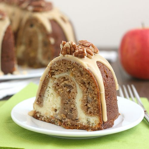 Apple-Cream Cheese Bundt Cake | Faith, Hope, Love, and Luck Survive Despite a Whiskered Accomplice