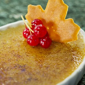 Maple Syrup Creme Brulee | Faith, Hope, Love, and Luck Survive Despite a Whiskered Accomplice