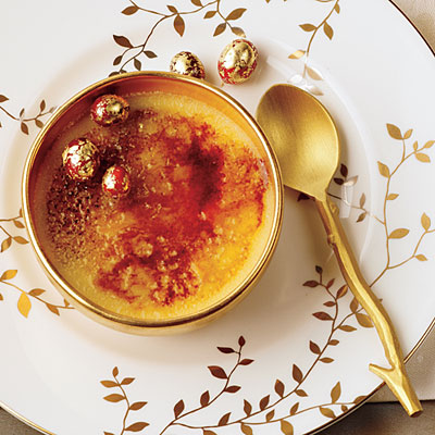 White Chocolate-Cranberry Creme Brulee | Faith, Hope, Love, and Luck Survive Despite a Whiskered Accomplice