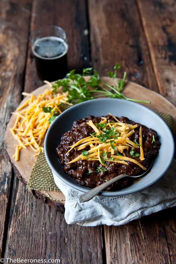 Short Rib Black Bean Beer Chili | Faith, Hope, Love, and Luck Survive Despite a Whiskered Accomplice