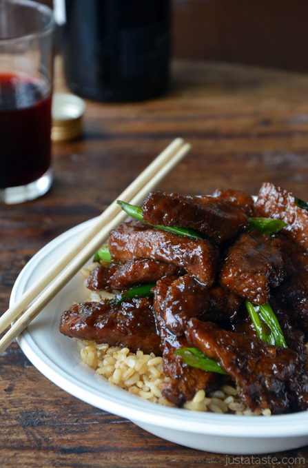 30-Minute Mongolian Beef | Faith, Hope, Love, and Luck Survive Despite a Whiskered Accomplice