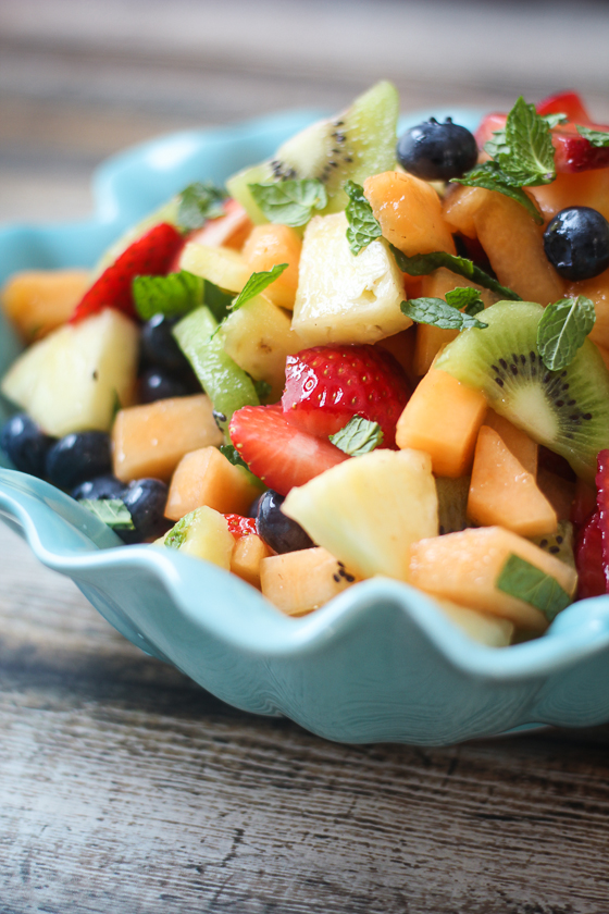 Best Ever Boozy Fruit Salad | Faith, Hope, Love, and Luck Survive Despite a Whiskered Accomplice