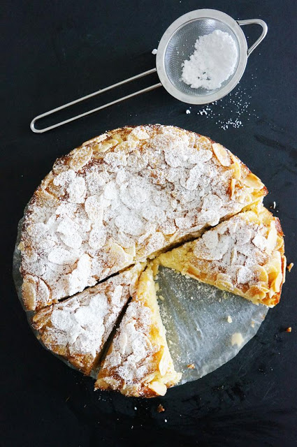 Lemon, Ricotta and Almond Flourless Cake | Faith, Hope, Love, and Luck Survive Despite a Whiskered Accomplice