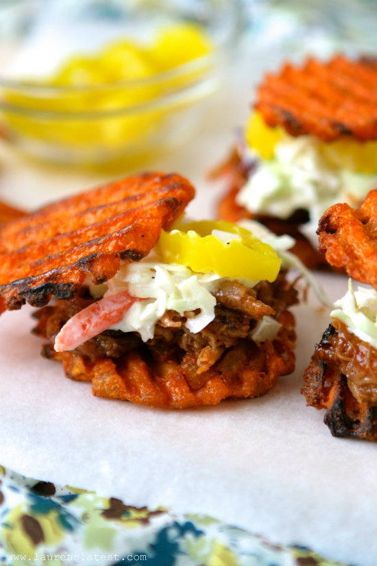 Sweet Potato Pulled Pork Sliders | Faith, Hope, Love, and Luck Survive Despite a Whiskered Accomplice