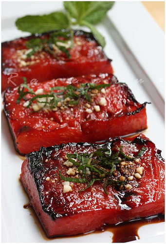 Watermelon Steak | Faith, Hope, Love, and Luck Survive Despite a Whiskered Accomplice