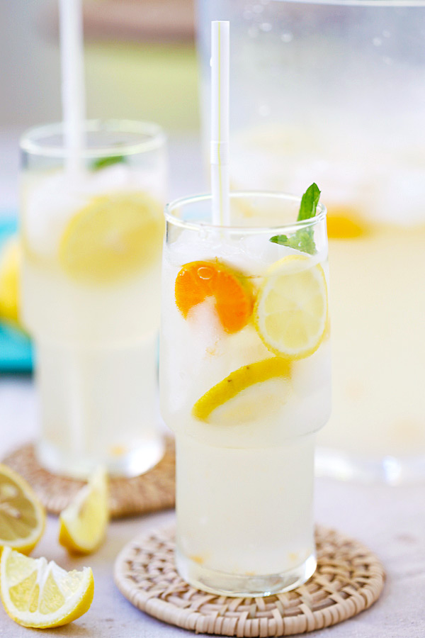 Coconut Water Lemonade | Faith, Hope, Love, and Luck Survive Despite a Whiskered Accomplice