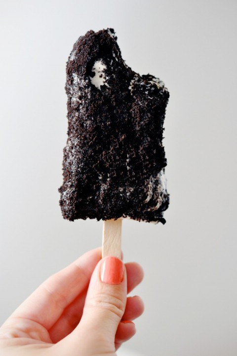 Cookies and Cream Popsicles | Faith, Hope, Love, and Luck Survive Despite a Whiskered Accomplice