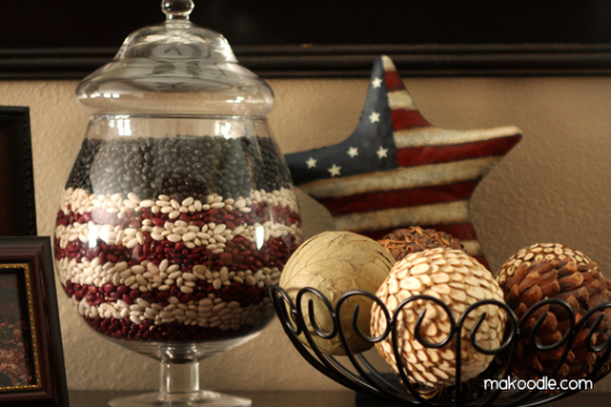 Apothecary Jar Holiday Decor | Faith, Hope, Love, and Luck Survive Despite a Whiskered Accomplice
