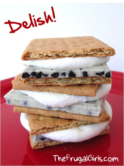 Cookies 'n Cream S'mores | Faith, Hope, Love, and Luck Survive Despite a Whiskered Accomplice