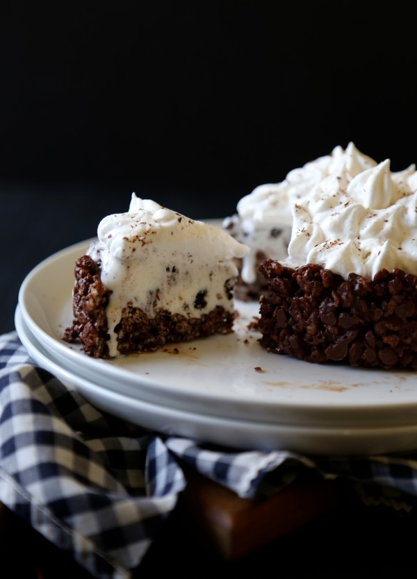 Salted Oreo Ice Cream Pie | Faith, Hope, Love, and Luck Survive Despite a Whiskered Accomplice