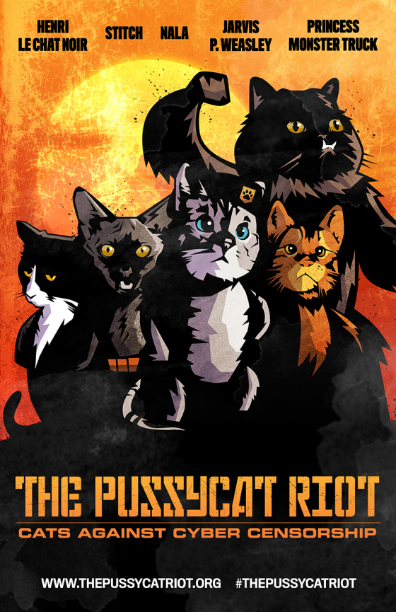 The Pussycat Riot | Faith, Hope, Love, and Luck Survive Despite a Whiskered Accomplice