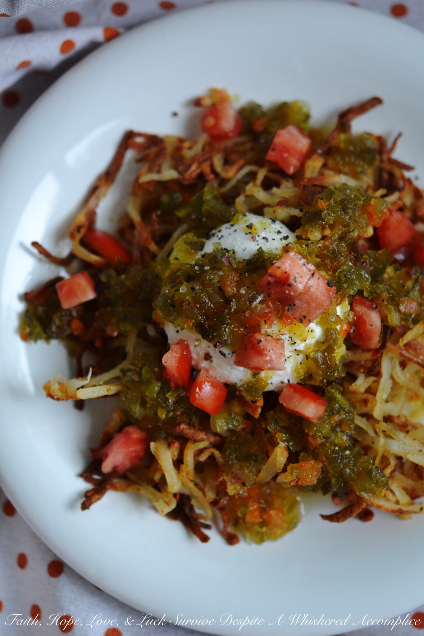 Oven-Baked Mexican Hash Browns