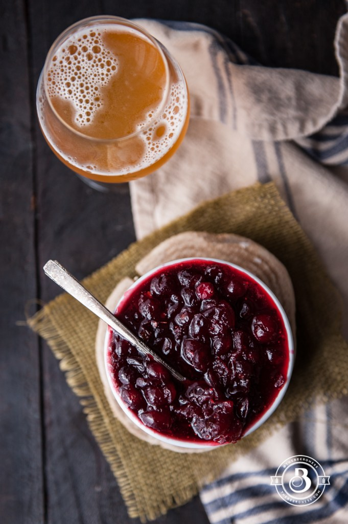 Chipotle White Ale Cranberry Sauce | Faith, Hope, Love, and Luck Survive Despite a Whiskered Accomplice
