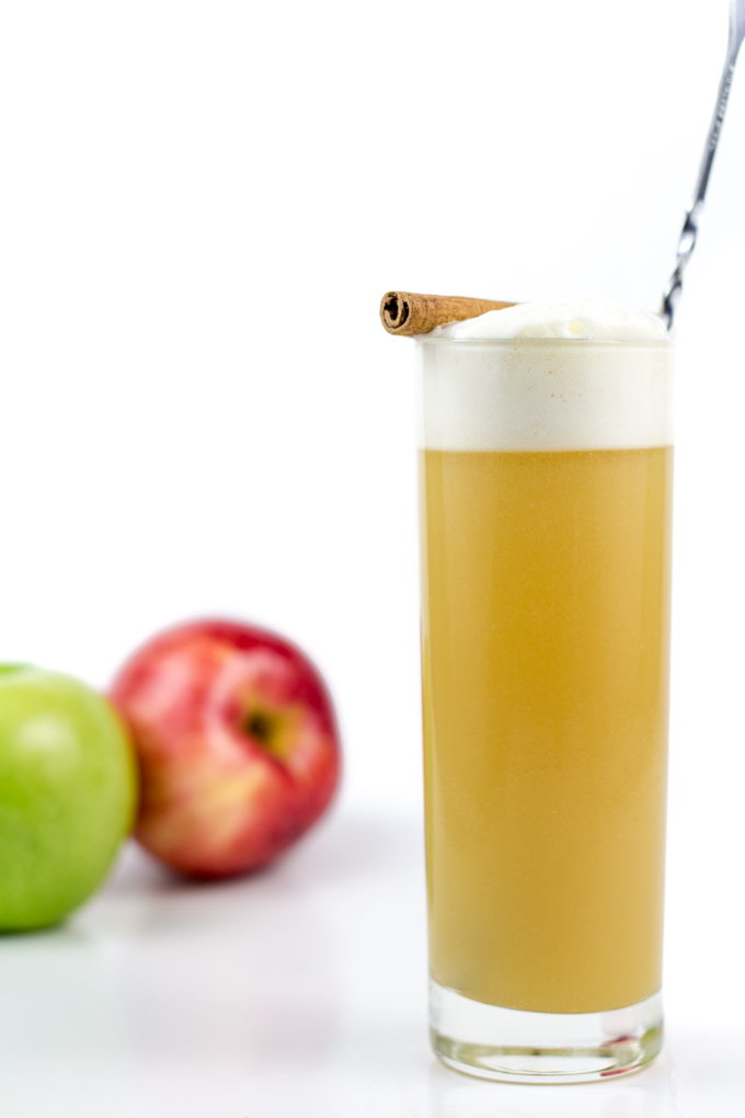 Cider Bourbon Fizz | Faith, Hope, Love, and Luck Survive Despite a Whiskered Accomplice