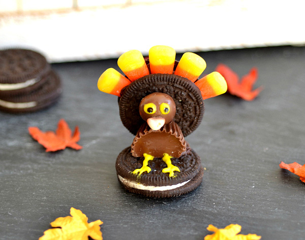 Oreo Turkeys | Faith, Hope, Love, and Luck Survive Despite a Whiskered Accomplice