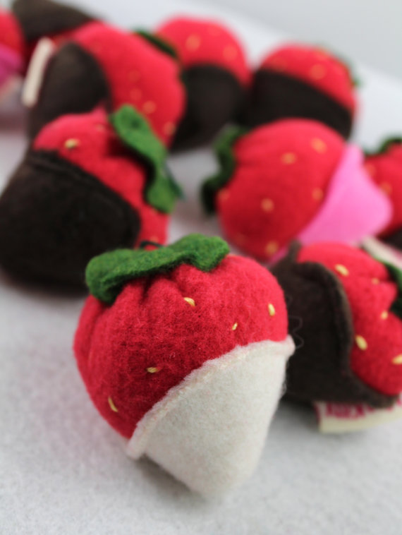 Catnip Chocolate Dipped Strawberries | Faith, Hope, Love, and Luck Survive Despite a Whiskered Accomplice