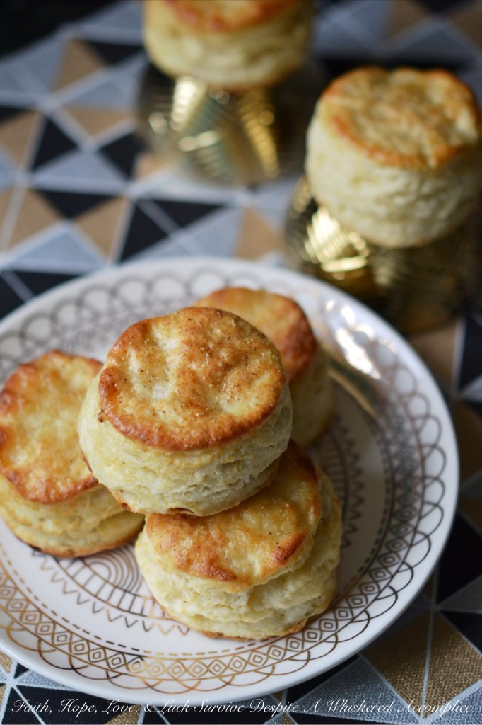 Dainty White Pepper Biscuits | Faith, Hope, Love, and Luck Survive Despite a Whiskered Accomplice