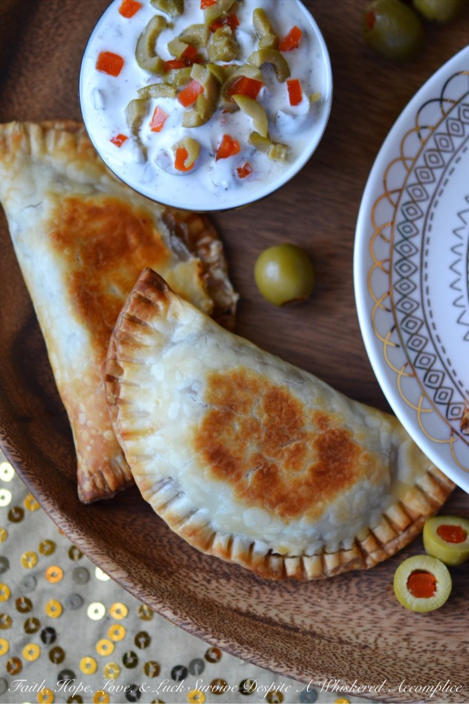 Saucy Crockpot Boneless Short Rib Empanadas | Faith, Hope, Love, and Luck Survive Despite a Whiskered Accomplice