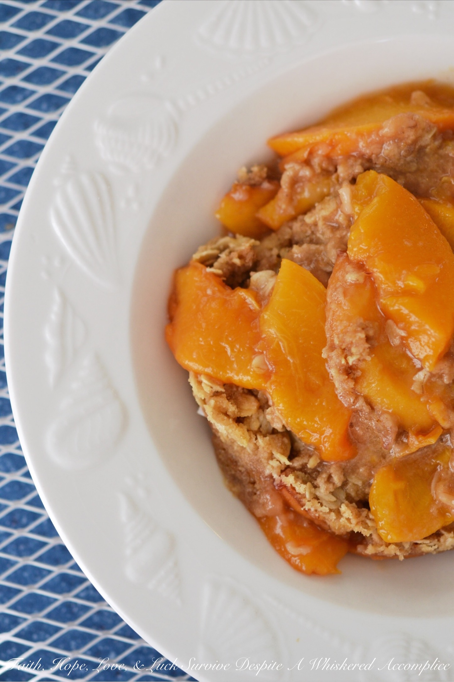 Malibu Crockpot Peach Beach Crisp