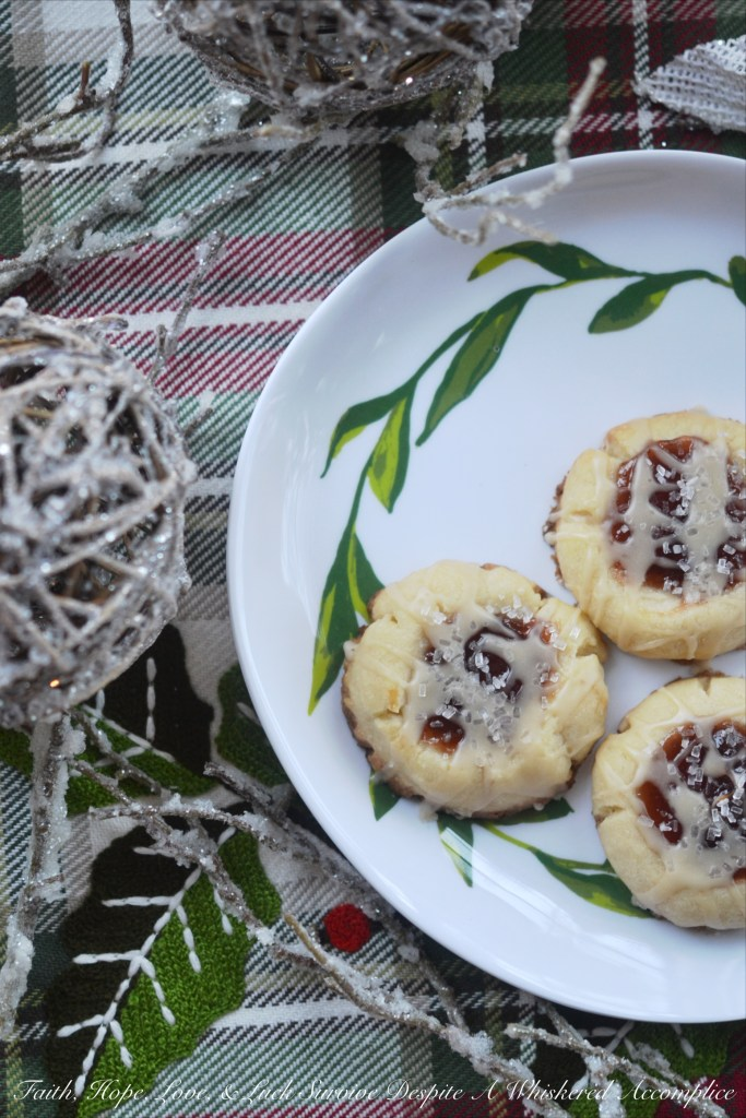 Sugar Plum Fairy Holiday Cookies | Faith, Hope, Love, and Luck Survive Despite a Whiskered Accomplice