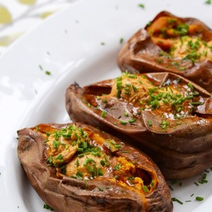 Instagram - Crockpot Cajun Butter Roasted Sweet Potatoes | Faith, Hope, Love, and Luck Survive Despite a Whiskered Accomplice