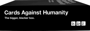 Cards Against Humanity The Bigger, Blacker Box | Faith, Hope, Love, and Luck Survive Despite a Whiskered Accomplice